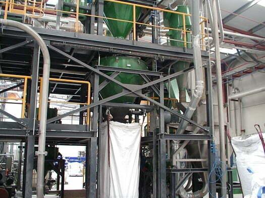 planta de reciclado