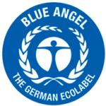 Etiqueta Ángel Azul
