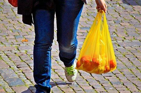 Prohibición bolsas de plástico