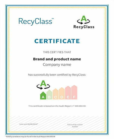 Recyclass certificado